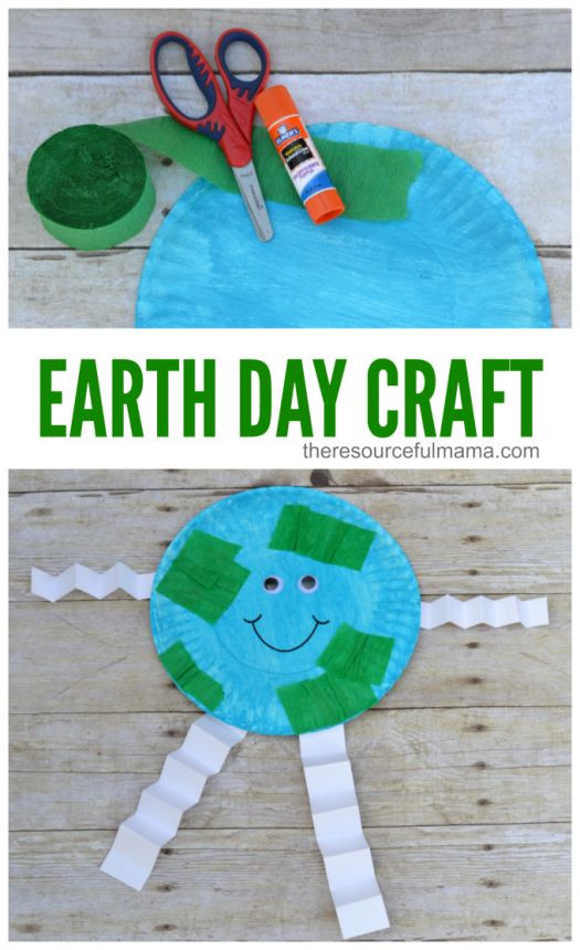Earth Day Craft Ideas For Preschoolers  Earth Day Craft for Kids