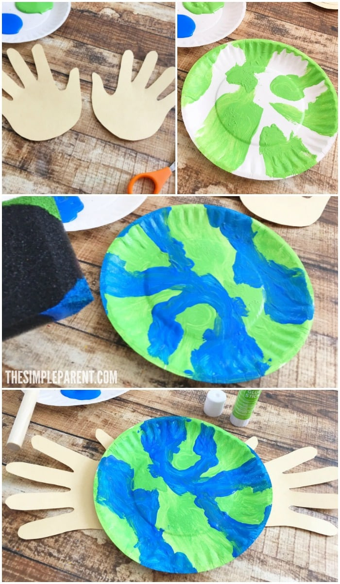 Earth Day Craft Ideas For Preschoolers  Make an Earth Day Craft Preschoolers Will Love To her to