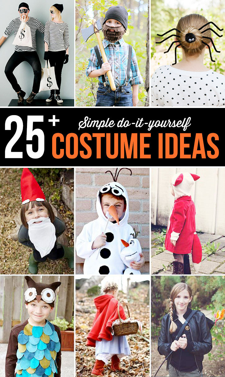 Easy DIY Couple Costumes  25 Cute Halloween Costumes to Buy