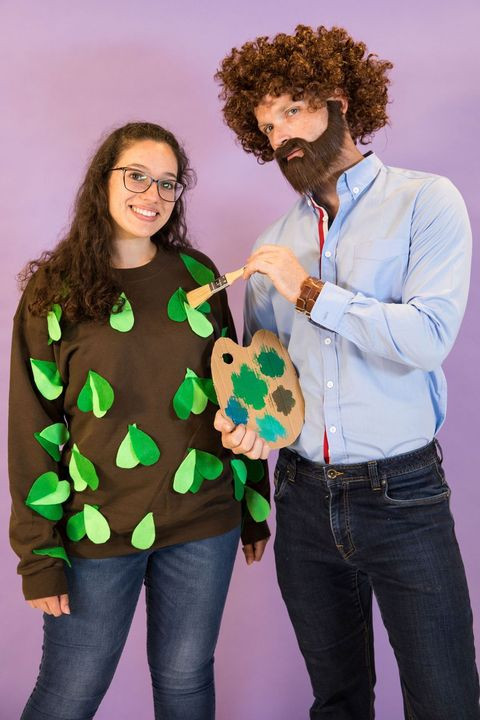 Easy DIY Couple Costumes  56 Easy Homemade Halloween Costumes for Adults & Kids
