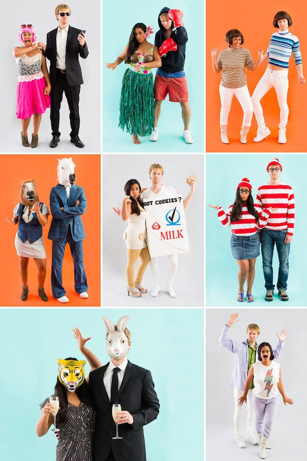Easy DIY Couple Costumes  8 Easy DIY Halloween Costumes For Couples That Won t Make
