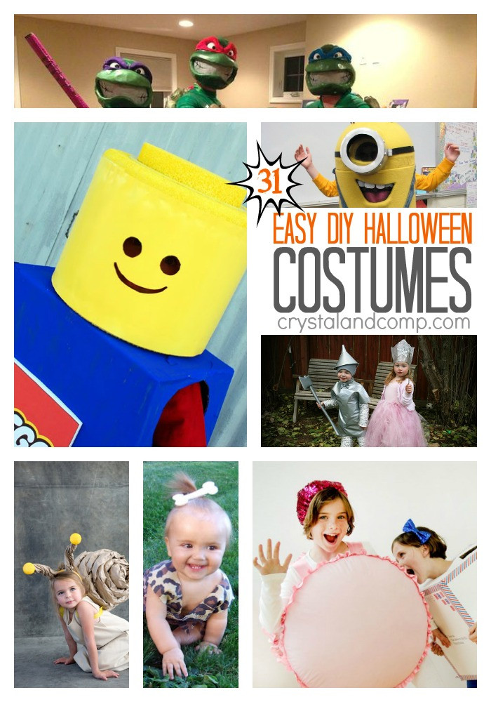 Easy DIY Couple Costumes  What to do Weekends 95