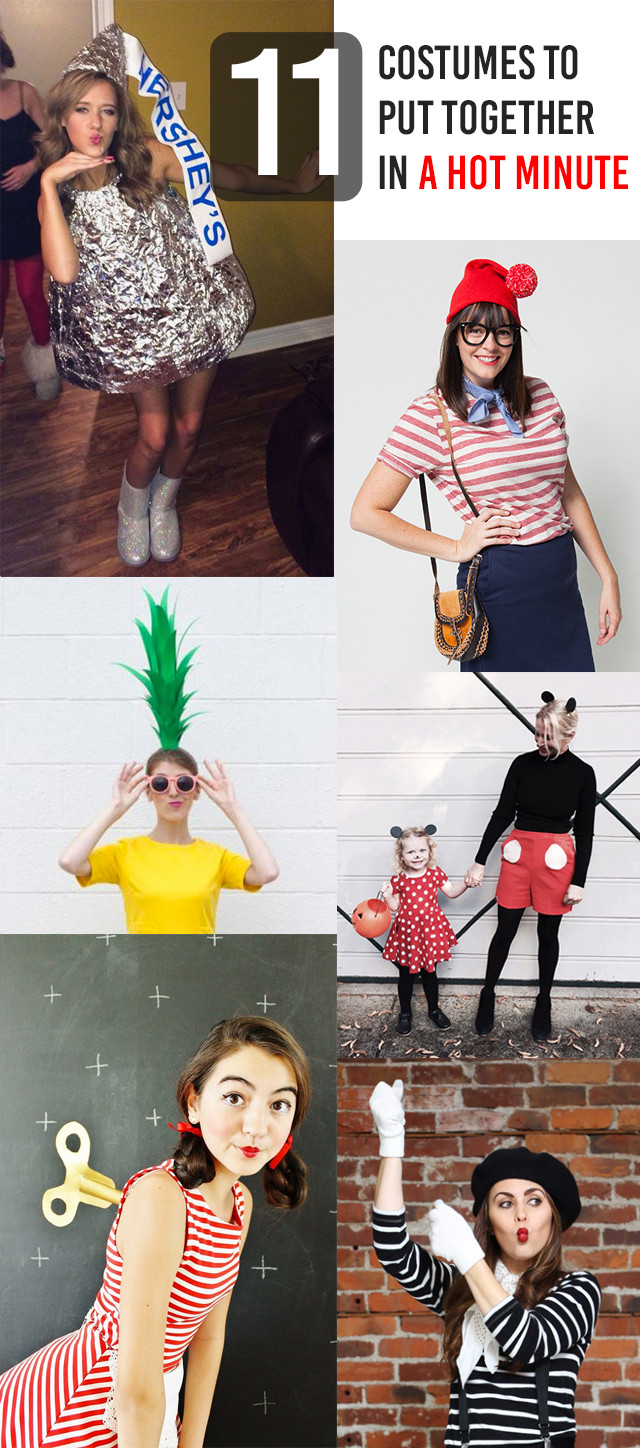 Easy DIY Couple Costumes  11 Brilliantly Simple DIY Halloween Costumes for Moms