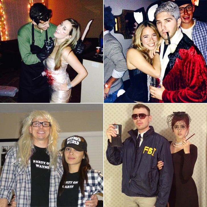 Easy DIY Couple Costumes  Homemade Halloween Couples Costumes