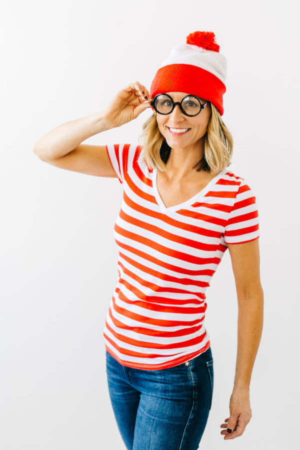 Easy DIY Halloween Costumes For Adults  Thrift or Treat Easy Halloween Costume Ideas – Jenny Cookies
