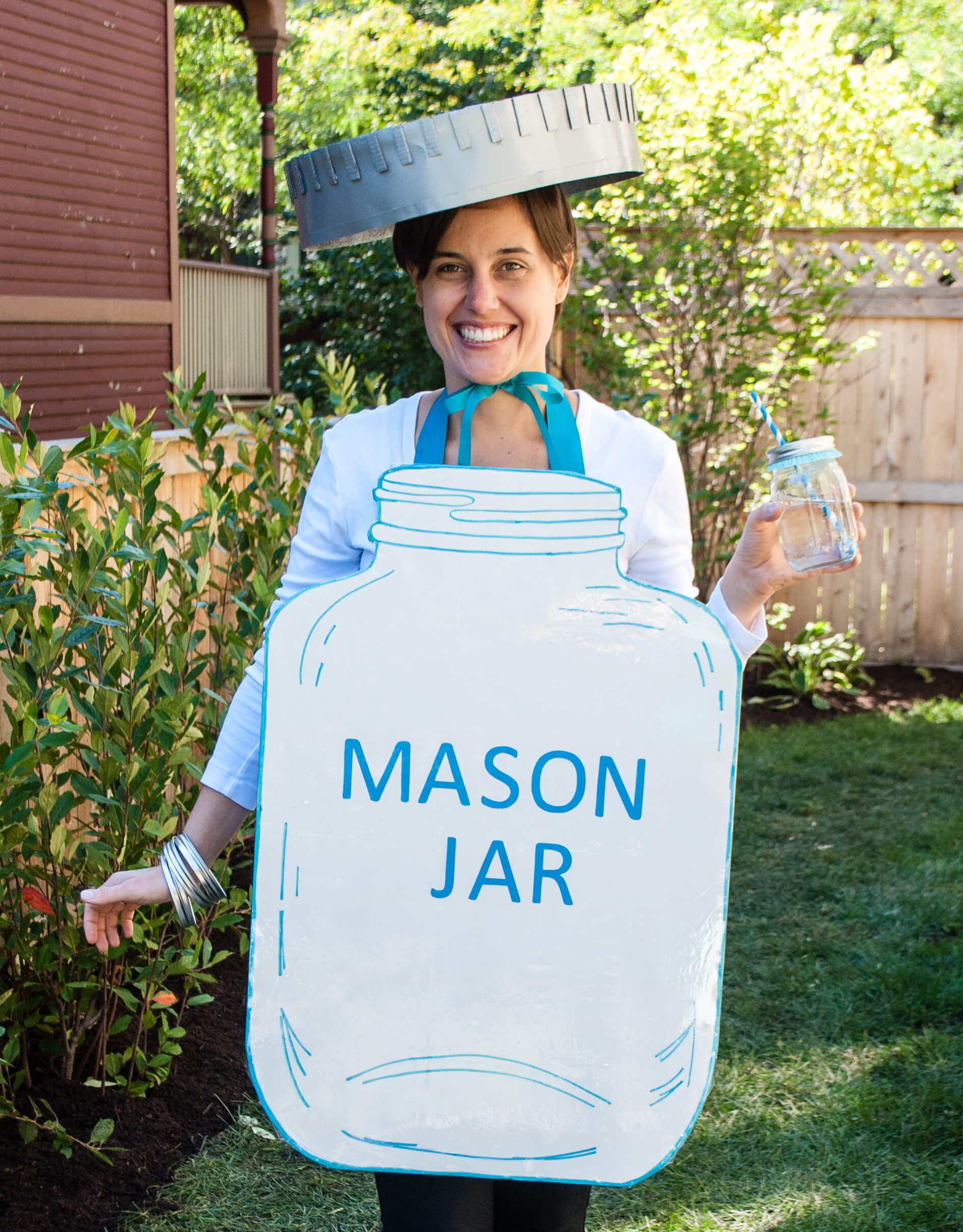 Easy DIY Halloween Costumes For Adults  Mason Jar Halloween Costume Easy DIY Halloween Costume