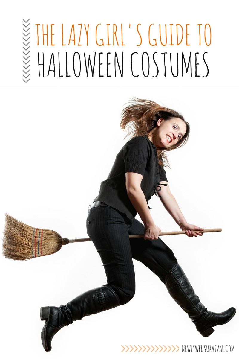 Easy DIY Halloween Costumes For Adults  The Lazy Girl s Guide to Halloween Costumes