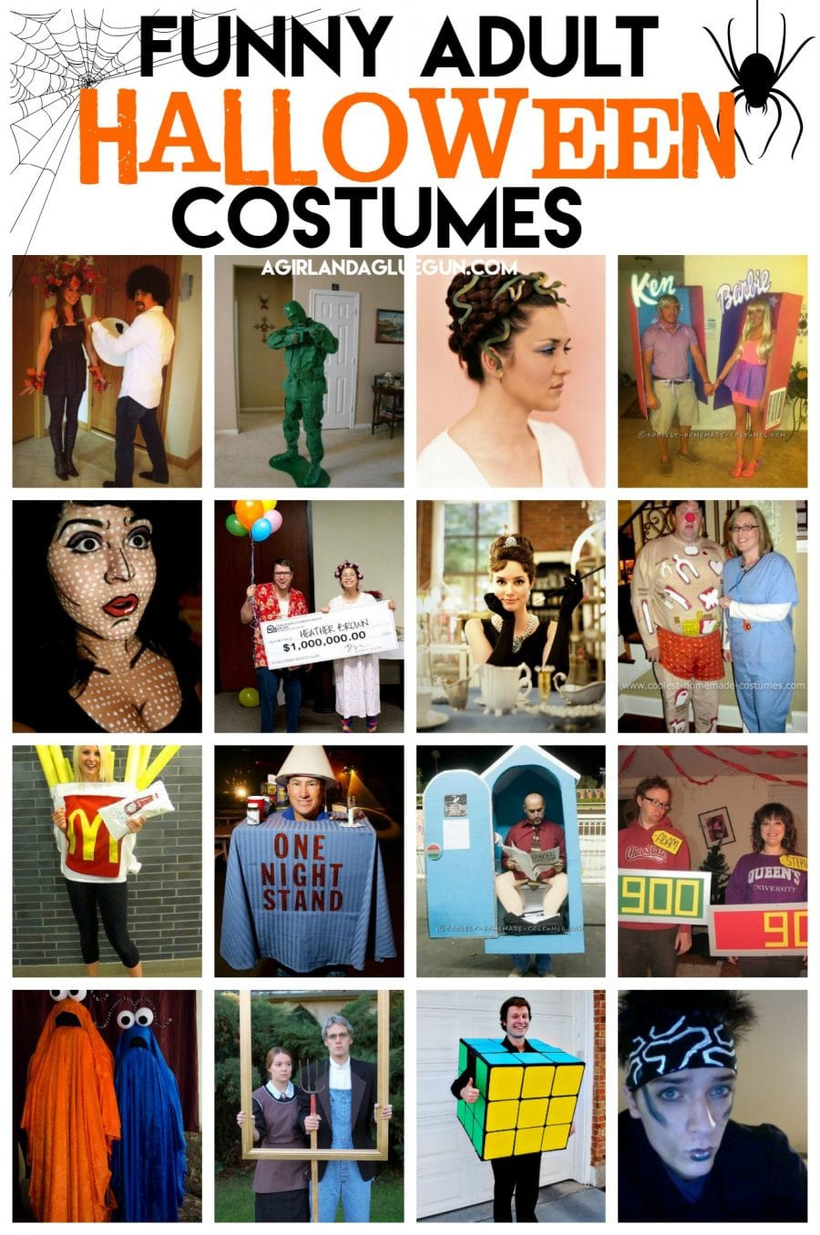 Easy DIY Halloween Costumes For Adults  Funny Halloween Costumes for Adults that you can DIY A