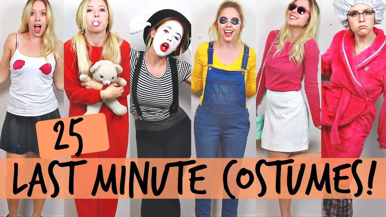 Easy DIY Halloween Costumes For Adults  25 DIY Halloween Costume Ideas