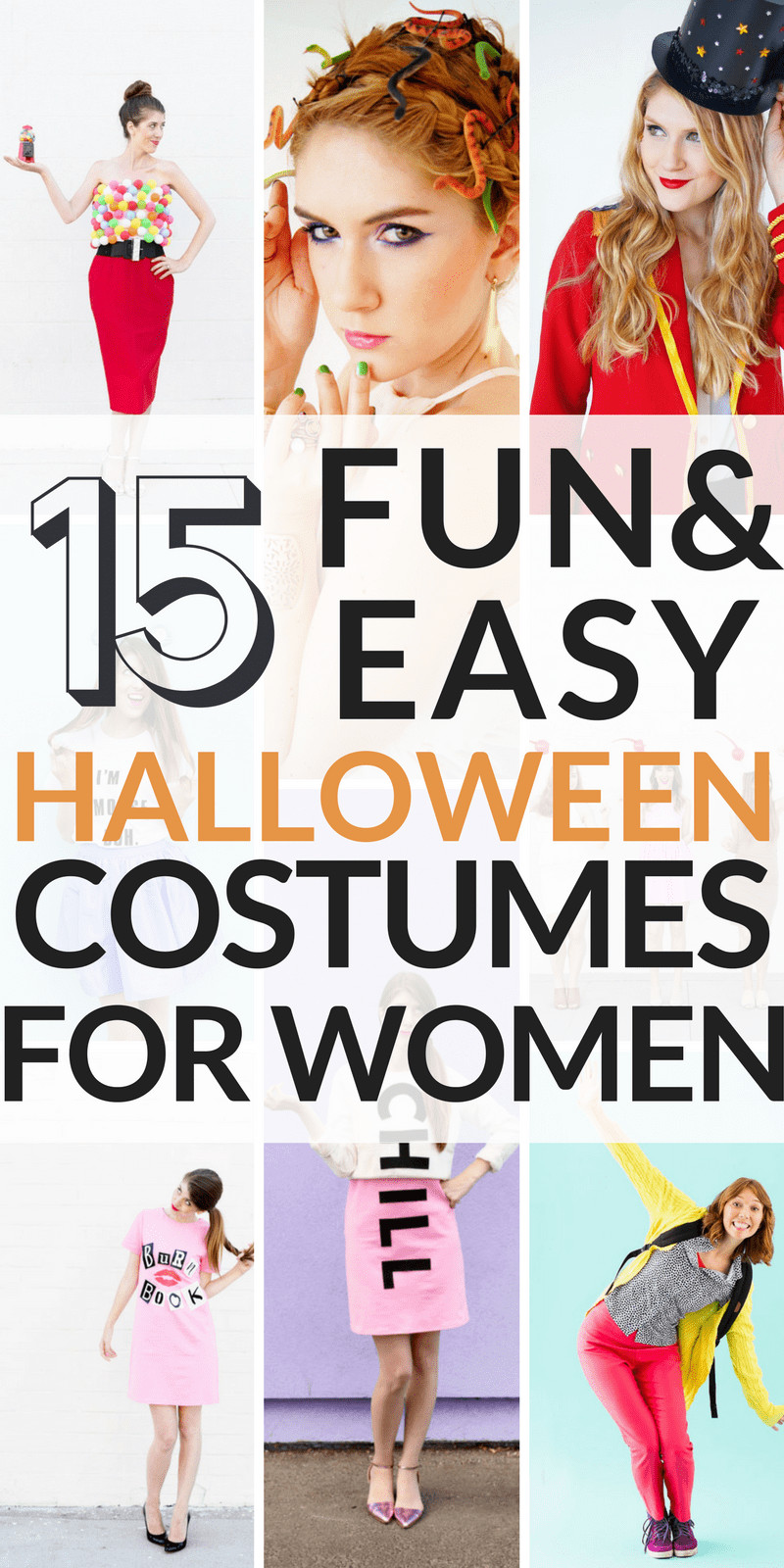 Easy DIY Halloween Costumes For Adults  15 Cheap and Easy DIY Halloween Costumes for Women