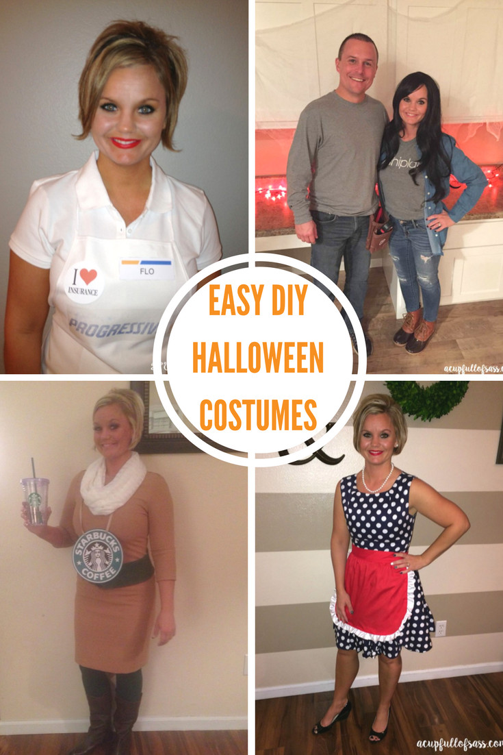 Easy DIY Halloween Costumes For Adults  DIY Halloween Costume Ideas A Cup Full of Sass