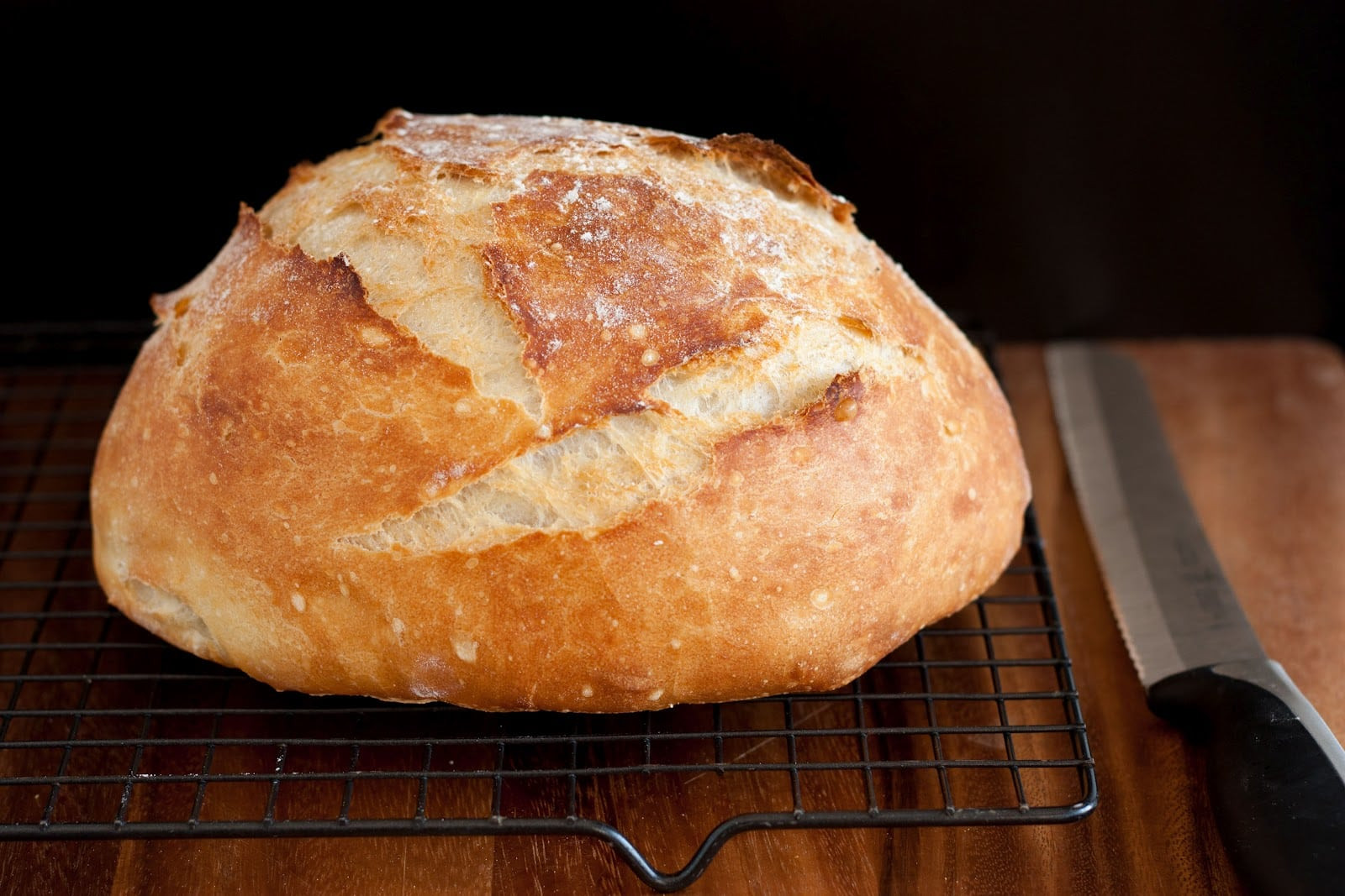 Easy No Knead Bread Recipe Quick  Crusty Rustic Bread It s No Knead  Cooking Classy