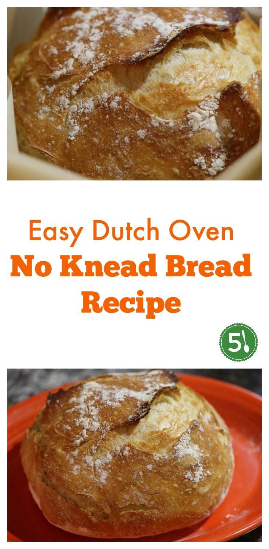 Easy No Knead Bread Recipe Quick  No Knead Bread