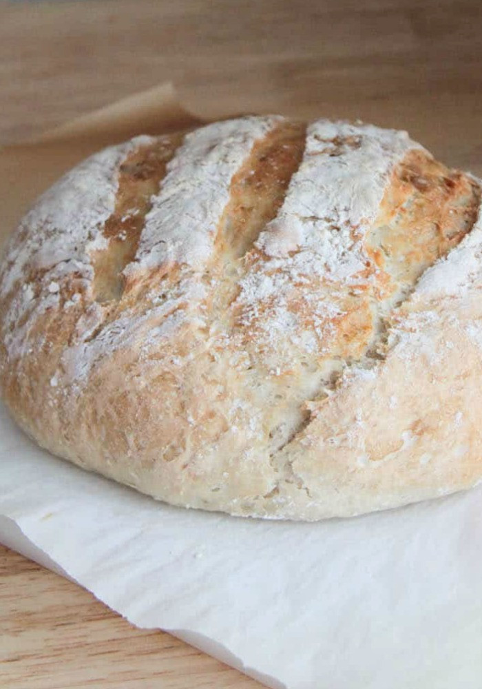 Easy No Knead Bread Recipe Quick  No Knead Bread Quick and Easy Crusty Artisan Bread Recipe
