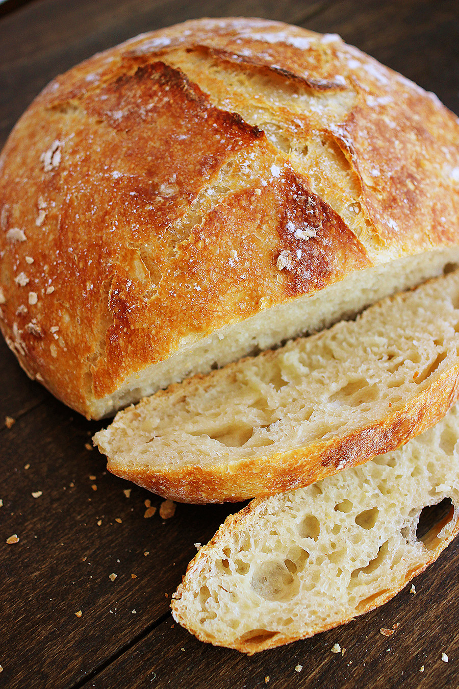 Easy No Knead Bread Recipe Quick  No Knead Crusty Artisan Mini Loaves