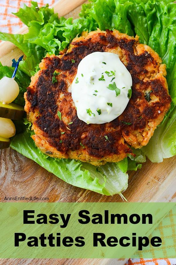 Easy Salmon Patties  Easy Salmon Patties Recipe