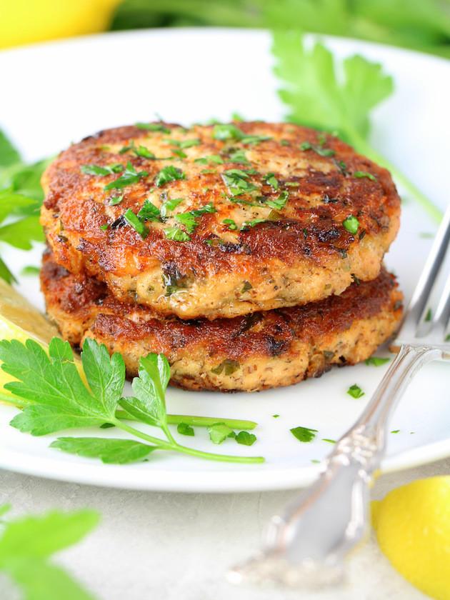 Easy Salmon Patties  Easy Low Carb Salmon Patty Recipe