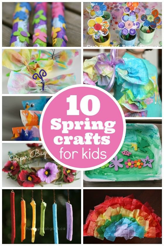 Easy Spring Crafts For Toddlers  10 Easy Spring Crafts for Toddlers and Preschoolers