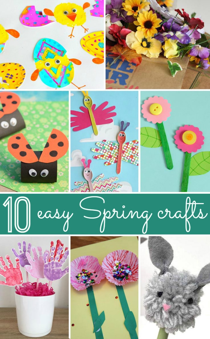 Easy Spring Crafts For Toddlers  Spring Craft Ideas · The Typical Mom