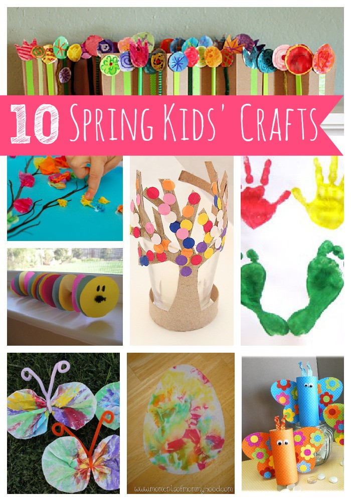 Easy Spring Crafts For Toddlers  10 Spring Kids' Crafts