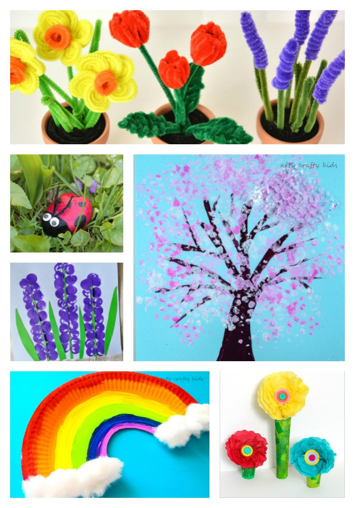Easy Spring Crafts For Toddlers  Easy Spring Crafts for Kids