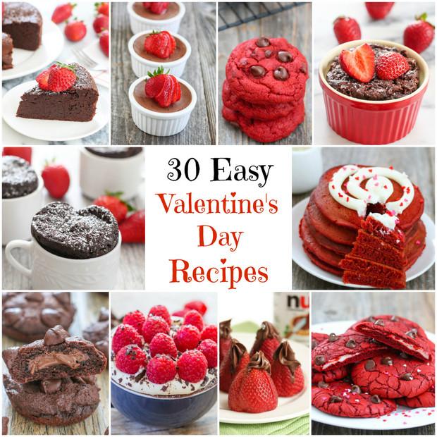 Easy Valentine'S Day Desserts  30 Easy Valentine s Day Recipes Kirbie s Cravings