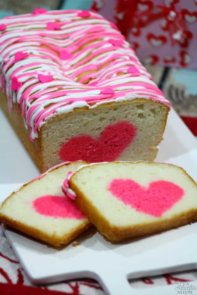 Easy Valentine'S Day Desserts  Easy Valentine s Day Dessert Vanilla Strawberry Heart