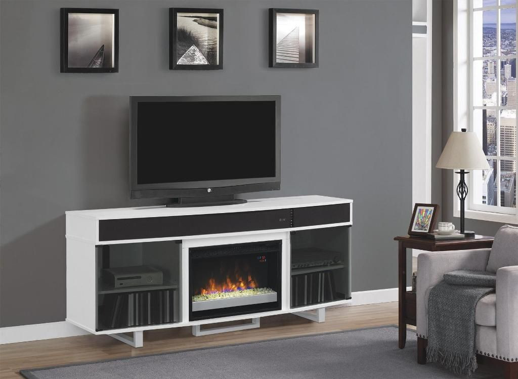 Electric Fireplace Tv Stand Menards  Fireplace Delightful Fireplace Tv Stand At Menards from