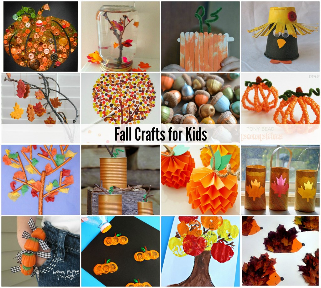 Fall Art Projects For Kids  Acorn Craft Ideas The Idea Room
