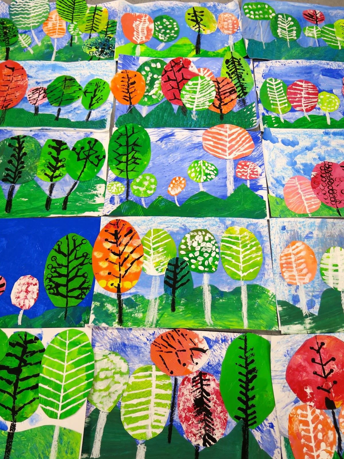 Fall Art Projects For Kids  Cassie Stephens In the Art Room Ten Fave Fall Projects