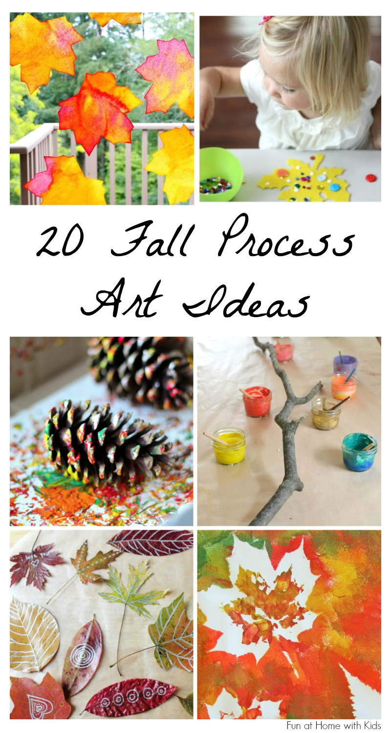 Fall Art Projects For Kids  20 Beautiful Fall Process Art Ideas for Kids