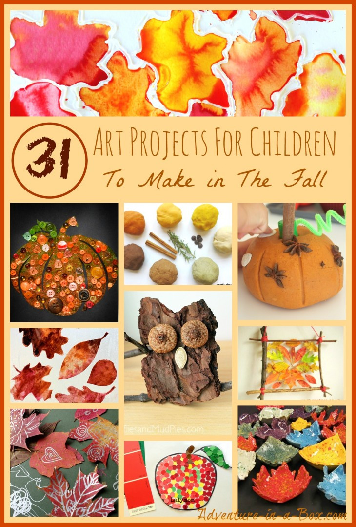 Fall Art Projects For Kids  31 Art Projects for Children to Make in the Fall