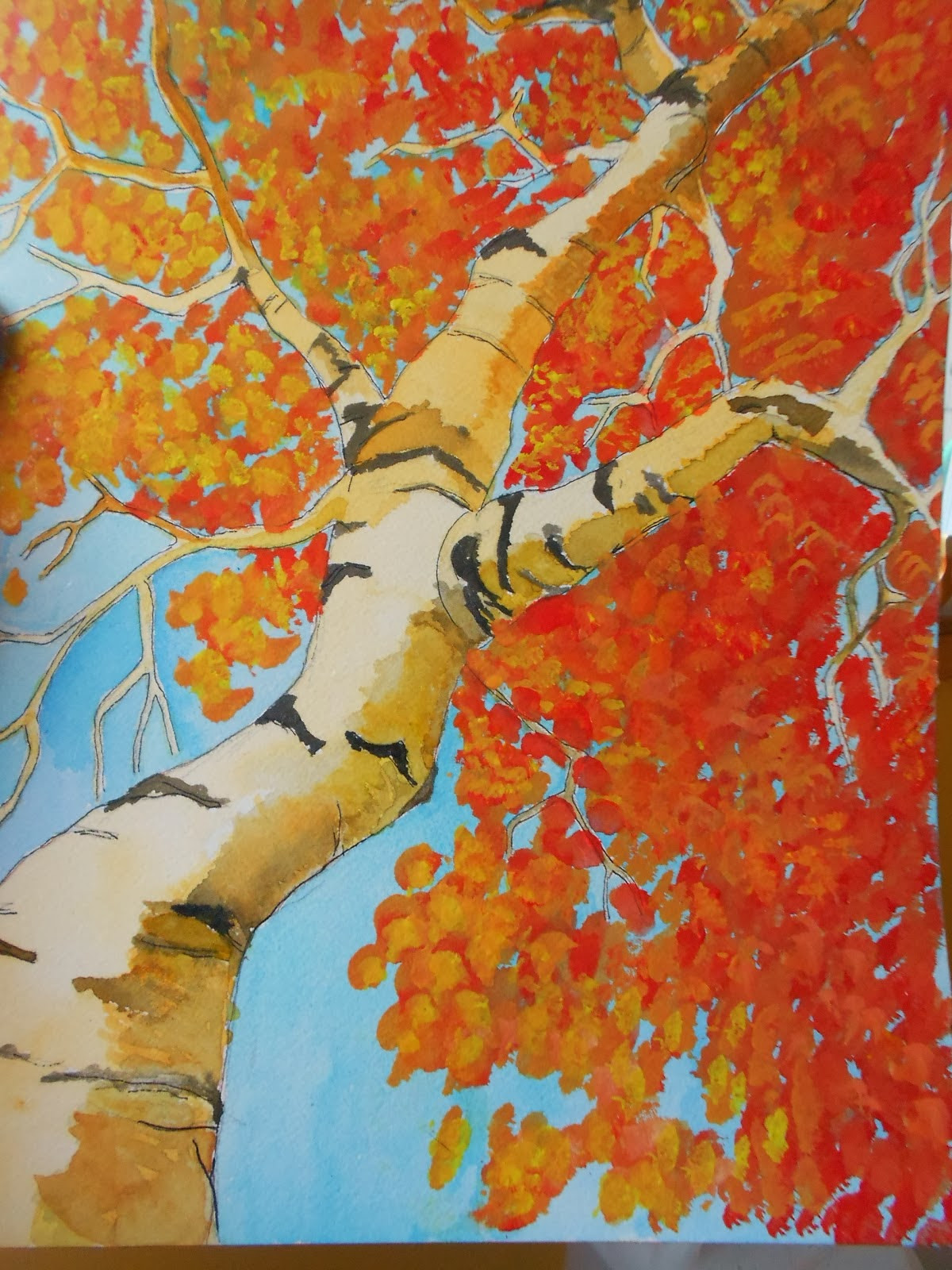 Fall Art Projects For Kids  Autumn Landscape Art Project Ideas