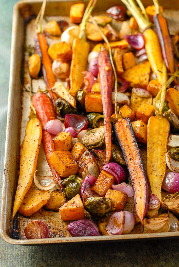 Fall Roasted Vegetables  Balsamic Roasted Fall Ve ables with Sumac A colorful
