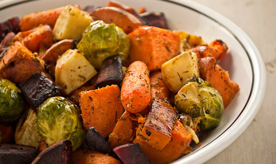 Fall Roasted Vegetables  Fall Roasted Veggies – Cecilia Ticsay Fitness