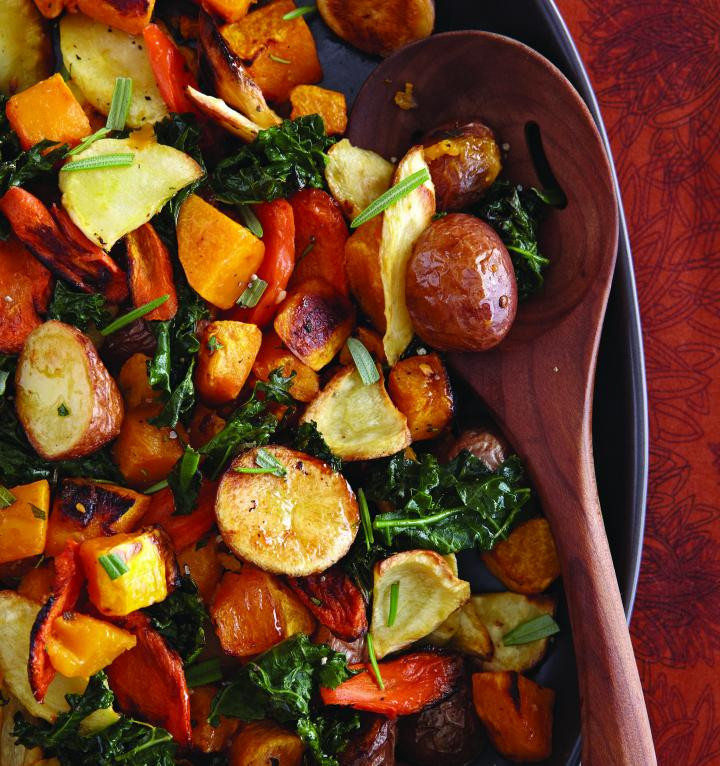 Fall Roasted Vegetables  Roasted Autumn Ve ables Recipe
