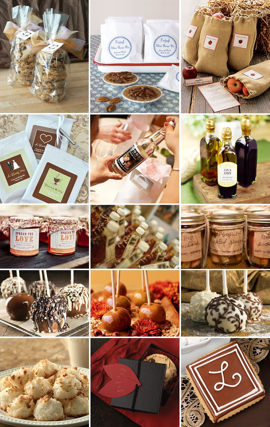 Fall Wedding Favors  Love & Cherish DIY Do It Yourself Projects