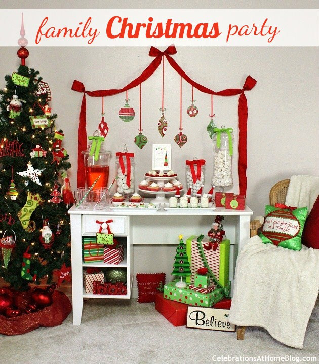 Family Holiday Party Ideas  Family Friendly Christmas Party Ideas Celebrations at
