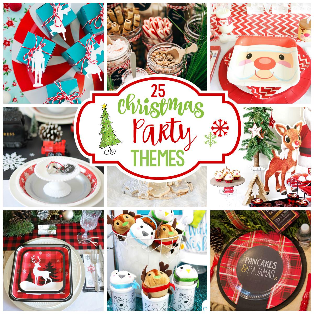 Family Holiday Party Ideas  25 Fun Christmas Party Theme Ideas – Fun Squared
