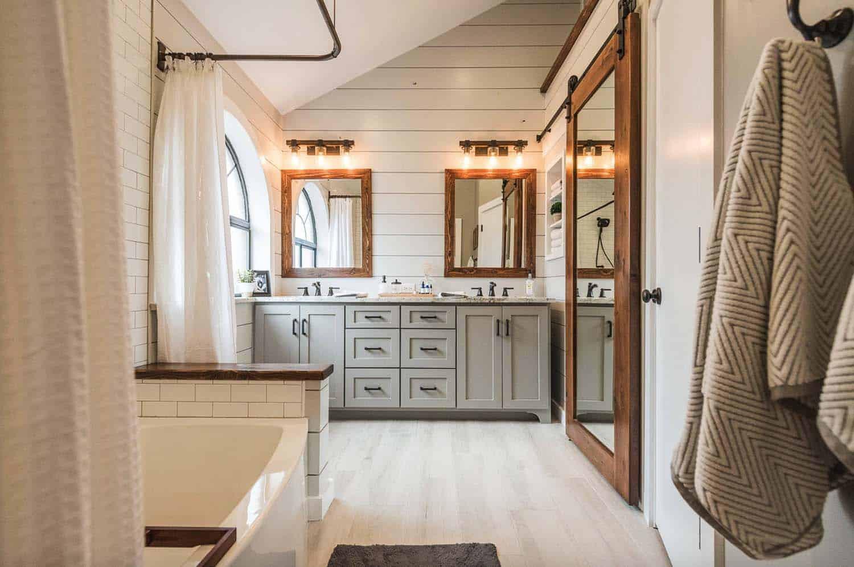 Farmhouse Master Bathroom  21 Gorgeous farmhouse style bathrooms you will love