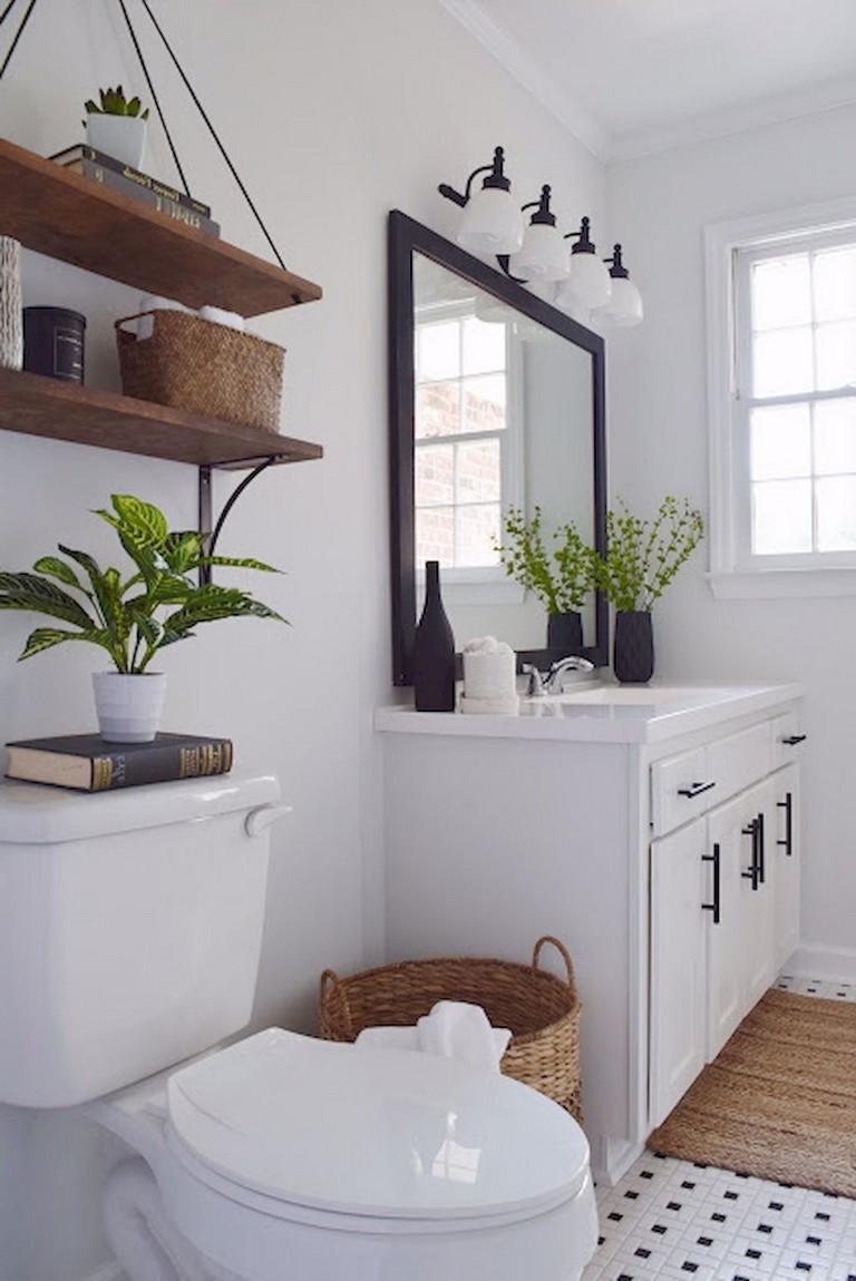 Farmhouse Master Bathroom  32 Stunning Farmhouse Master Bathroom Ideas