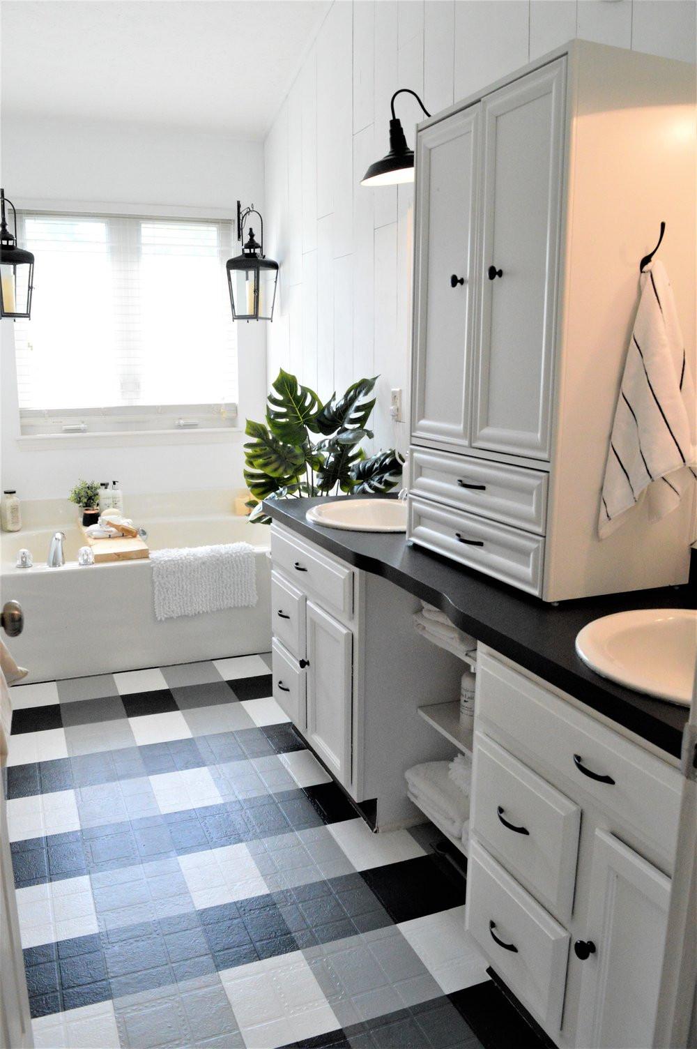 Farmhouse Master Bathroom  How To Master the Modern Farmhouse Bathroom under $500