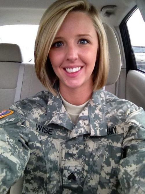 Female Navy Haircuts  User submit a cute Army gal 5 s