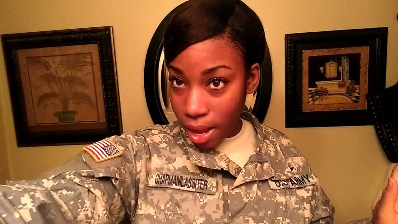 Female Navy Haircuts  Military hairstyle options for Afro Amer females