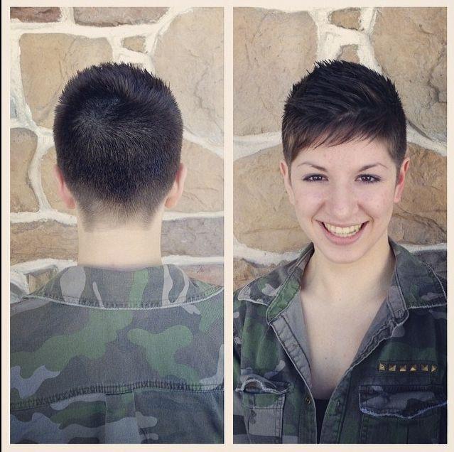 Female Navy Haircuts  130 best Kort Kapsels 26 images on Pinterest