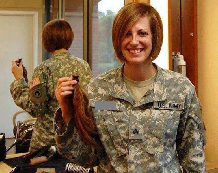 Female Navy Haircuts  Bye bye hair