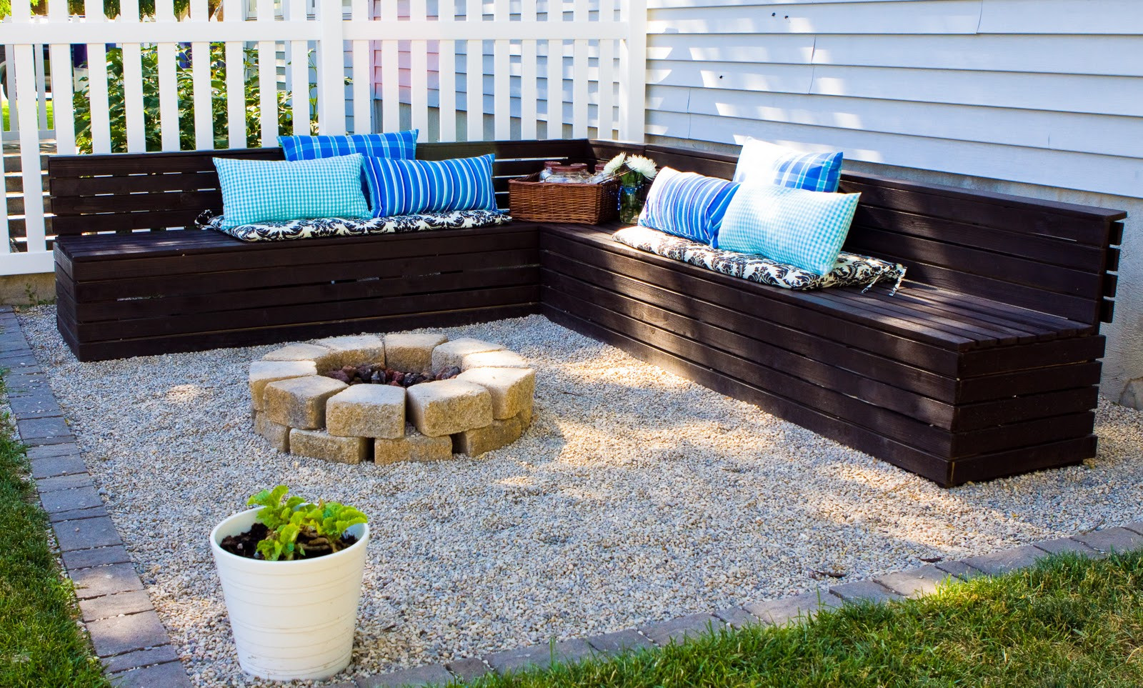 Fire Pit Bench  Bird and Berry Fire Pit Area and Benches