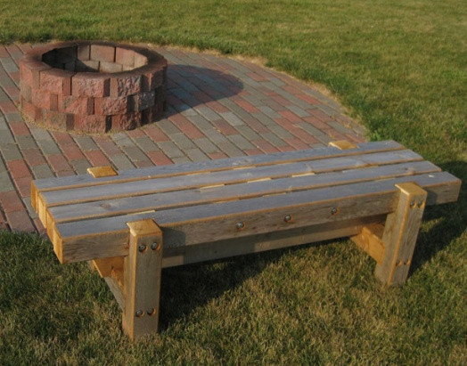 Fire Pit Bench  Outdoor Project Fire Pit Bench Woodworking Talk