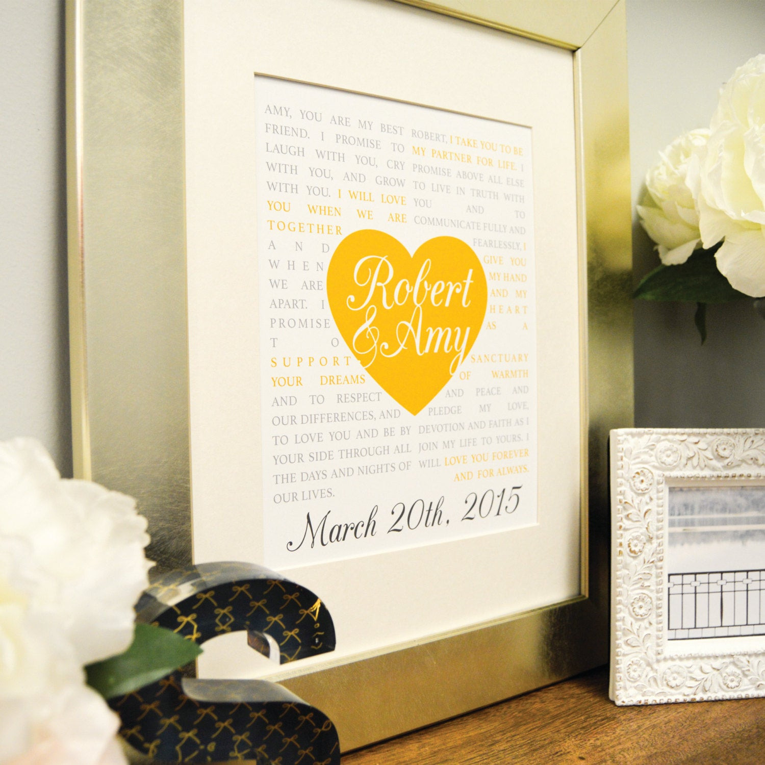 First Anniversary Gift Ideas For Couple From Parents  Gift for Couples First Anniversary Gift Personalized Couple
