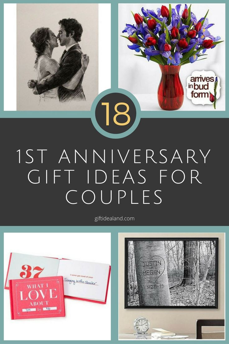 First Anniversary Gift Ideas For Couple From Parents  22 Amazing 1st Anniversary Gift Ideas For Couples
